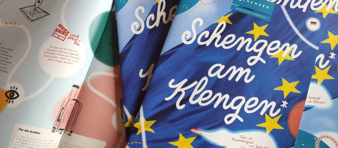 """Maintenant disponible: """"Schengen am Klengen"""""""